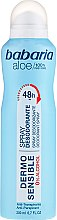 Dezodorant - Babaria Aloe Vera Dermo Sensible Deo Spray — фото N1