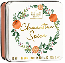 Kup Mydło w kostce Klementynka - Scottish Fine Soaps Clementine Spice Soap