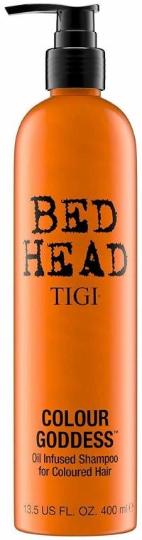 Szampon do włosów farbowanych - Tigi Bed Head Colour Goddess Oil Infused Shampoo