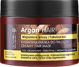 Kup Kremowa maska do włosów Olej arganowy i keratyna - Dr. Sante Argan Hair