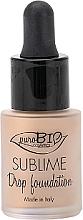 Kup PRZECENA! Podkład w płynie, 19g - PuroBio Cosmetics Sublime Drop Foundation *