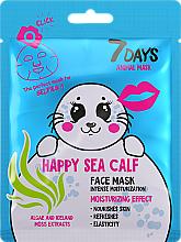 Kup Maseczka do twarzy Szczęśliwa foka - 7 Days Animal Happt Sea Calf
