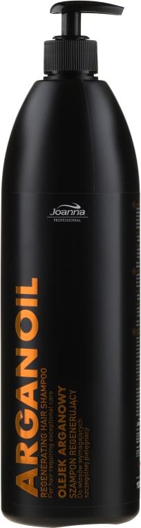 Regenerujący szampon do włosów wymagających szczególnej pielęgnacji z olejem arganowym - Joanna Professional