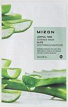 Kup Kojąca maska nawilżająca na tkaninie do twarzy Aloes - Mizon Joyful Time Essence Mask Aloe