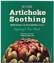 Kup Łagodząca hydrożelowa maska do twarzy z ekstraktem z karczocha - Petitfee&Koelf Artichoke Soothing Face Mask