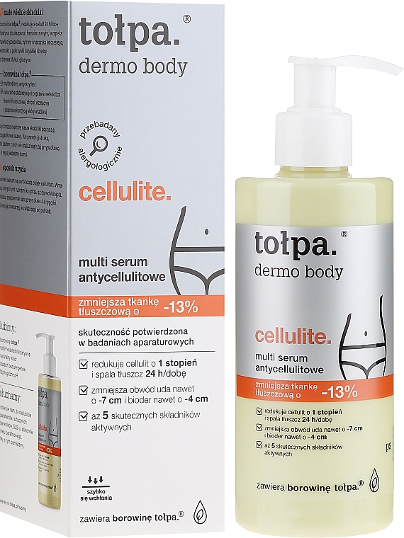 Multiserum antycellulitowe - Tołpa Dermo Body Cellulite Multi Serum