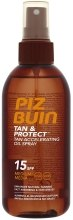 Kup Ochronny olejek przyspieszający opalanie SPF 15 - Piz Buin Tan & Protect Tan Accelerating Oil Spray