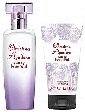 Kup Christina Aguilera Eau So Beautiful - Zestaw (edp/30ml + sh/g/50ml)