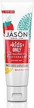 Kup Naturalna pasta do zębów dla dzieci Truskawka - Jason Natural Cosmetics Kids Only Toothpaste Strawberry