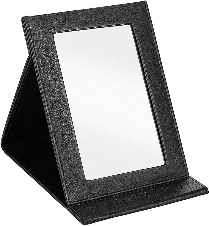 Lusterko kosmetyczne w formie ksiązki, czarne - MakeUp Tabletop Cosmetic Mirror Black