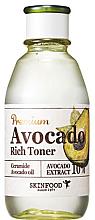 Kup PRZECENA! Tonik z olejem awokado - Skinfood Premium Avocado Rich Toner *
