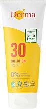 Kup Przeciwsłoneczny balsam do opalania do ciała i twarzy SPF 30 - Derma Sun Lotion