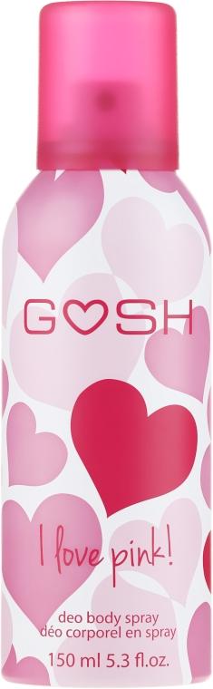 Dezodorant w sprayu - Gosh I Love Pink Deo Body Spray