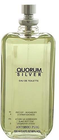 Antonio Puig Quorum Silver - Woda toaletowa (tester bez nakrętki) — фото N1