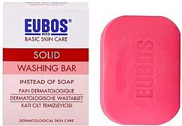 Kup Bezalkaiczna kostka myjąca o świeżym zapachu - Eubos Med Basic Skin Care Solid Washing Bar Red