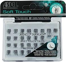 Kup Kępki sztucznych rzęs - Ardell Soft Touch Trios Medium Black