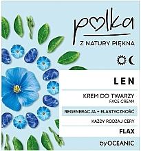 Kup Krem do twarzy na dzień i noc Regeneracja + elastyczność - Polka Len