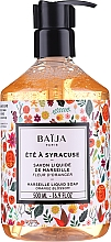 Kup Mydło w płynie - Baija Ete A Syracuse Marseille Liquid Soap