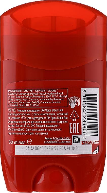 Zestaw - Old Spice Deep Sea Wooden Chest (deo/spray/150ml + deo/50g + sh/gel/250ml + ash/lot/100ml) — фото N6