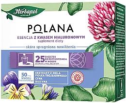 Kup PRZECENA! Suplement diety Esencja z kwasem hialuronowym - Polana *