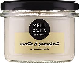 Kup Świeca zapachowa Wanilia i grejpfrut - Melli Care Vanilla & Grapefruit Soy Wax Scented Candle