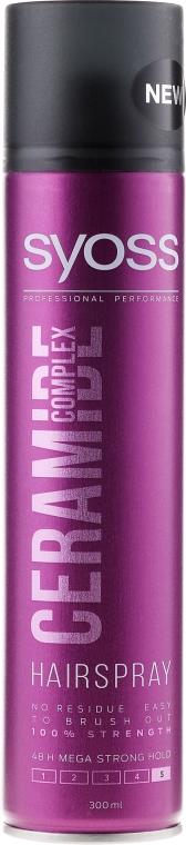 Lakier do włosów Bardzo silne utrwalenie - Syoss Ceramide Complex Hairspray