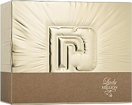 Kup PRZECENA! Paco Rabanne Lady Million - Zestaw (edp 50 ml + edp10 ml + b/lot 75 ml)*