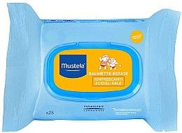 Kup Chusteczki po opalaniu dla dzieci - Mustela Bébé After Sun Wipes