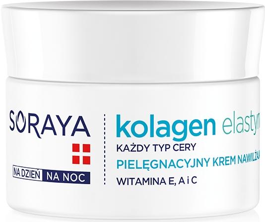 Pielęgnacyjny krem nawilżający - Soraya Kolagen i Elastyna Moisturizing Cream