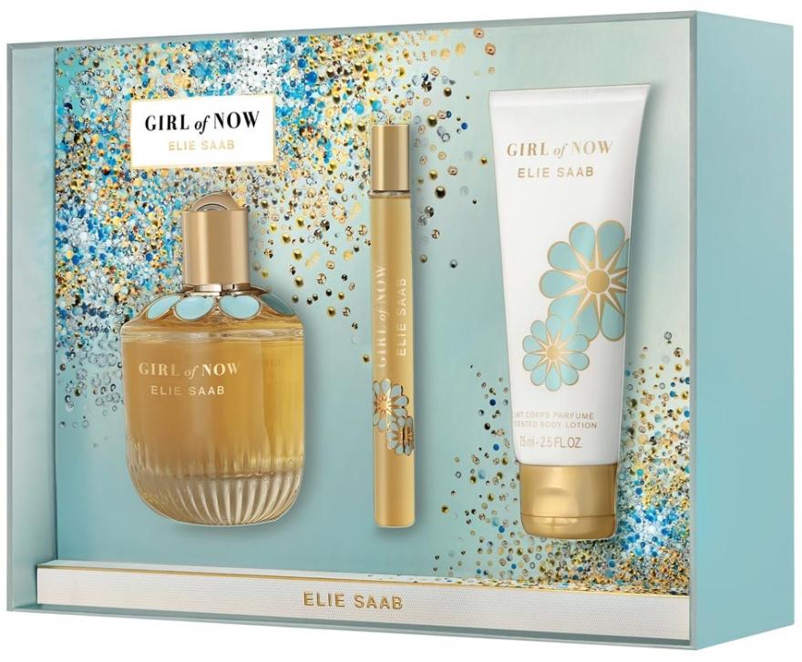 Elie Saab Girl of Now - Zestaw (edp 90 ml + edp 10 ml + b/lot 75 ml)