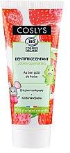 Kup Truskawkowa pasta do zębów dla dzieci - Coslys Junior Toothpaste