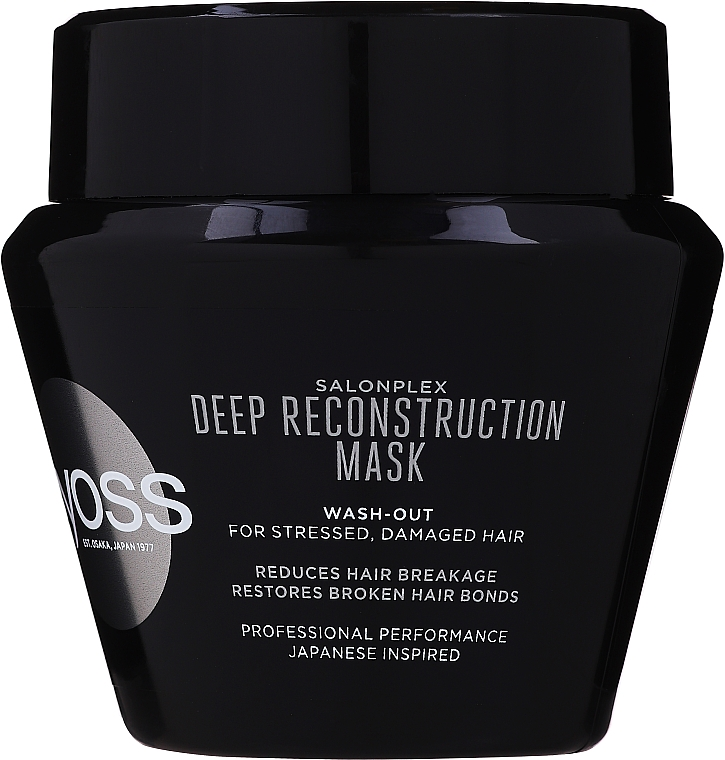 Maska do włosów zniszczonych zabiegami chemicznymi - Syoss Salon Plex Intensiv Recreation Treatment