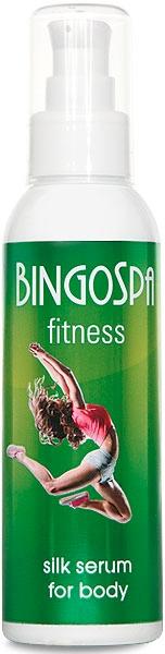 Jedwabne serum do ciała Fitness - BingoSpa Silk Serum Body Fitness