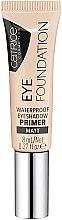 Kup Wodoodporny matująca baza pod cienie do powiek - Catrice Eye Foundation Waterproof Eyeshadow Primer