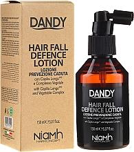 Ochronny lotion przeciw wypadaniu włosów dla mężczyzn - Niamh Hairconcept Dandy Hair Fall Defence Lotion — фото N1