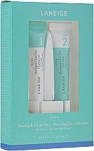Kup Zestaw intensywnie oczyszczający pory - Laneige Mini Pore Heating & Clean Duo (f/mask/15ml + f/gel/15ml)