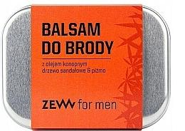 Kup Balsam do brody z olejem konopnym Drzewo sandałowe i piżmo - Zew Beard Balm