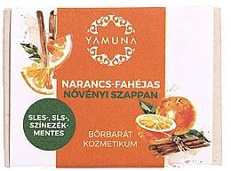 Kup Mydło pomarańczowo-cynamonowe - Yamuna Orange-Cinnamon Vegetable Soap