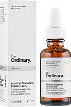 Kup PRZECENA! Rozjaśniające serum do twarzy z witaminą C - The Ordinary Ascorbyl Glucoside Solution 12% *