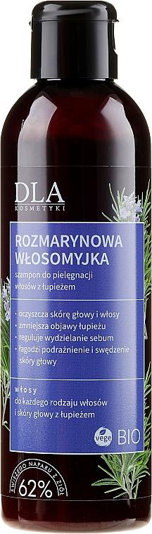 Szampon do pielęgnacji włosów z łupieżem Rozmarynowa włosomyjka - DLA