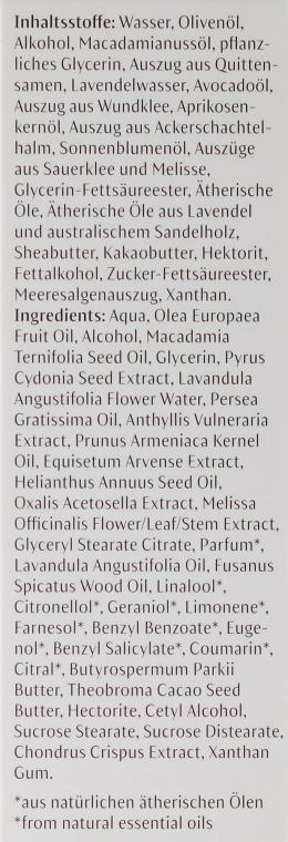 Balsam do ciała Lawenda i drzewo sandałowe - Dr. Hauschka Lavender Sandalwood Calming Body Cream — фото N4