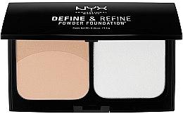 Kup Podkład w kompakcie do twarzy - NYX Professional Makeup Define Refine Powder Foundation
