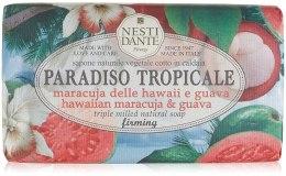 Kup Naturalne mydło ujędrniające w kostce Marakuja i guawa - Nesti Dante Paradiso Tropicale Firming