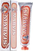 Kup Pasta do zębów z ksylitolem Imbir i mięta - Marvis Ginger Mint + Xylitol