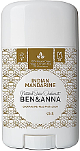 Kup Dezodorant w sztyfcie na bazie sody Indyjska mandarynka - Ben & Anna Natural Soda Deodorant Indian Mandarine
