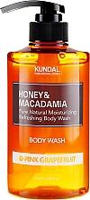 Kup Nawilżający żel pod prysznic Różowy grejpfrut - Kundal Honey & Macadamia Body Wash Pink Grapefruit
