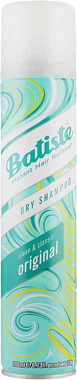 Suchy szampon - Batiste Dry Shampoo Clean And Classic Original