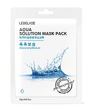 Kup Maseczka do twarzy w płachcie - Lebelage Aqua Solution Mask