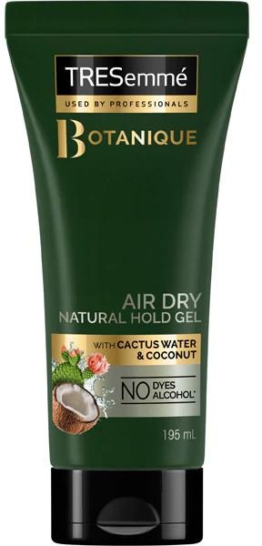 Naturalny żel utrwalający do stylizacji włosów - Tresemme Botanique Air Dry Natural Hold Gel — фото N1