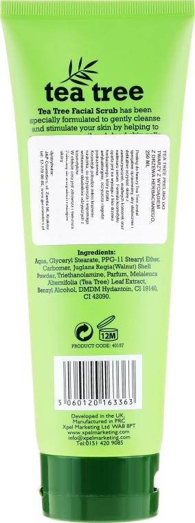 Oczyszczający peeling do twarzy Drzewo herbaciane - Xpel Marketing Ltd Tea Tree Facial Scrub — фото N2